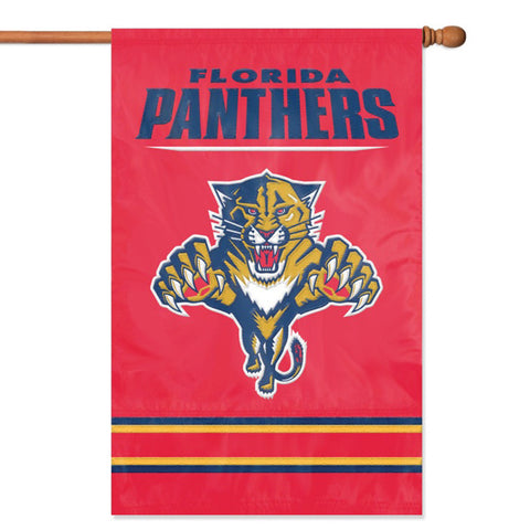 Florida Panthers NHL Appliqué Banner Flag