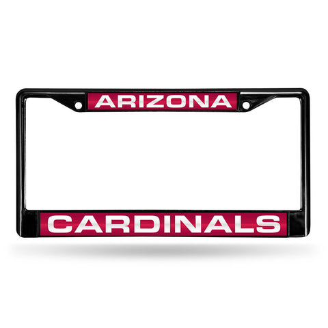 Arizona Cardinals NFL Laser Cut Black License Plate Frame