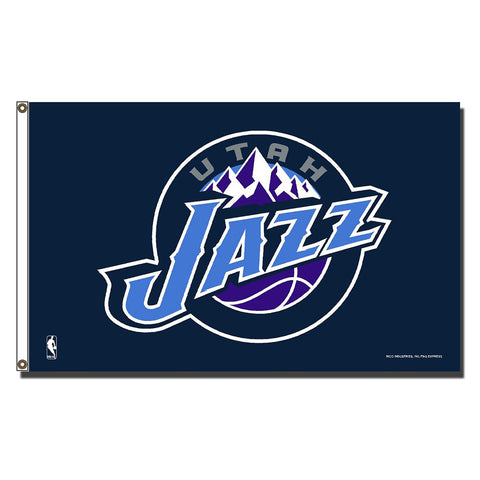 Utah Jazz NBA 3ft x 5ft Banner Flag