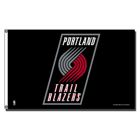 Portland Trail Blazers NBA 3ft x 5ft Banner Flag