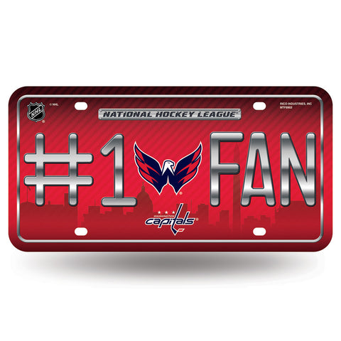 Washington Capitals NHL Metal Tag License Plate #1 Fan
