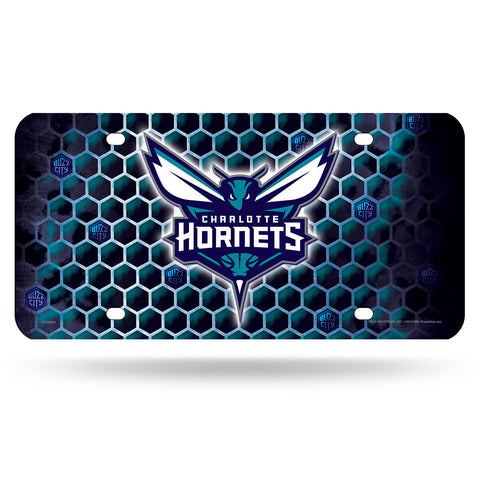 Charlotte Hornets NBA Metal Tag License Plate