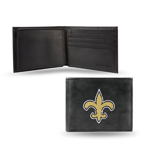 New Orleans Saints Embroidered Billfold Wallet