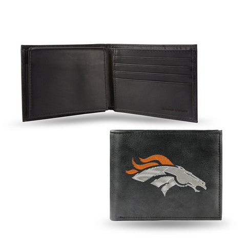 Denver Broncos Embroidered Billfold Wallet