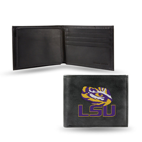 LSU Tigers Embroidered Billfold Wallet