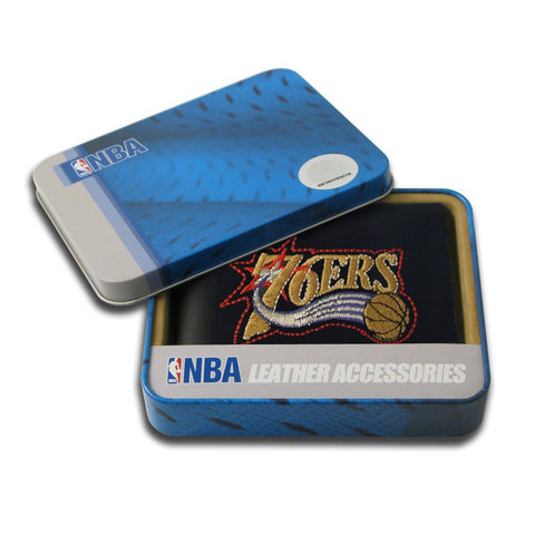 Philadelphia 76ers Embroidered Billfold Wallet