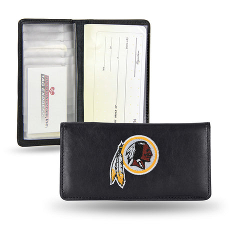 Washington Redskins Checkbook Holder Embroidered