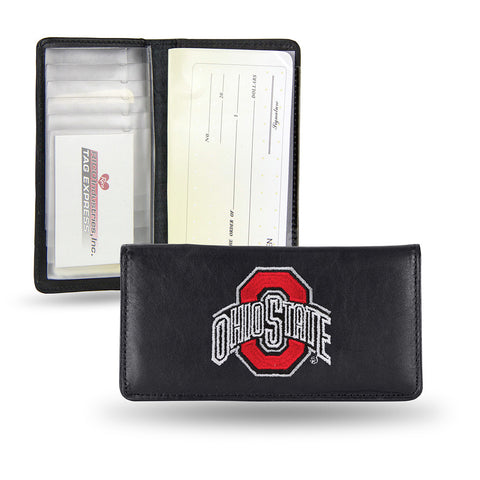 Ohio State Buckeyes Checkbook Holder Embroidered