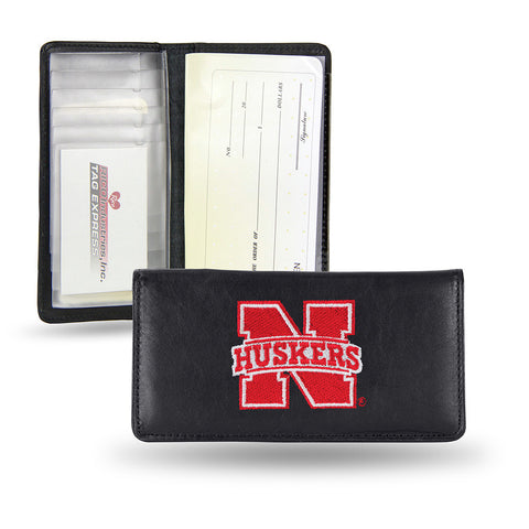 Nebraska Cornhuskers Checkbook Holder Embroidered