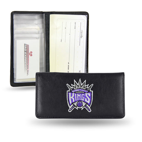 Sacramento Kings Checkbook Holder Embroidered