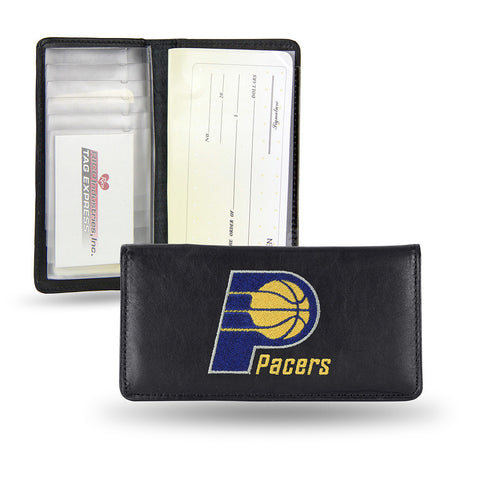 Indiana Pacers Checkbook Holder Embroidered