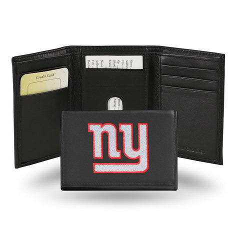 New York Giants Embroidered Trifold Wallet