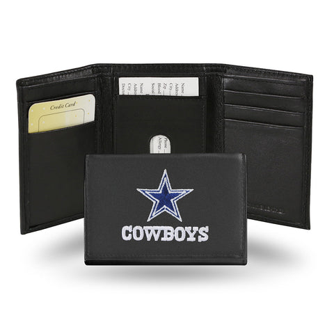 Dallas Cowboys Embroidered Trifold Wallet