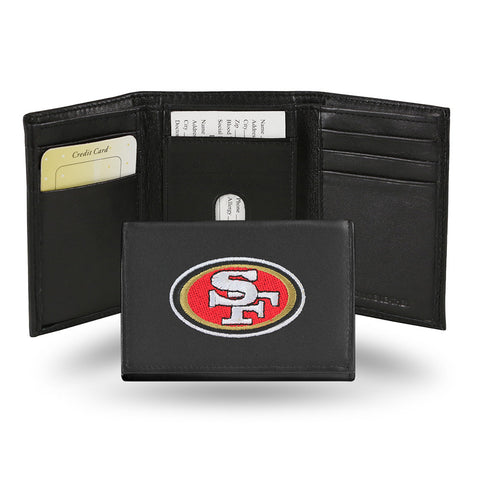 San Francisco 49ers Embroidered Trifold Wallet