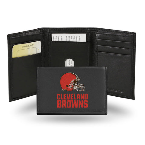 Cleveland Browns Embroidered Trifold Wallet
