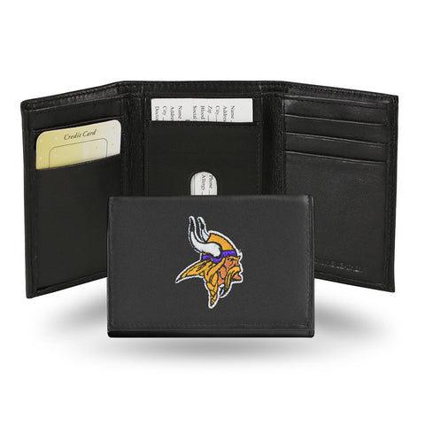 Minnesota Vikings Embroidered Trifold Wallet