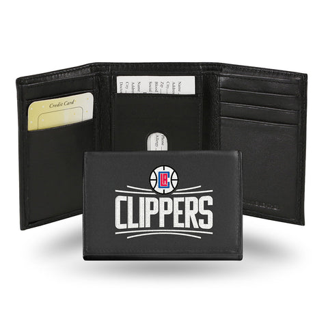 Los Angeles Clippers Embroidered Trifold Wallet
