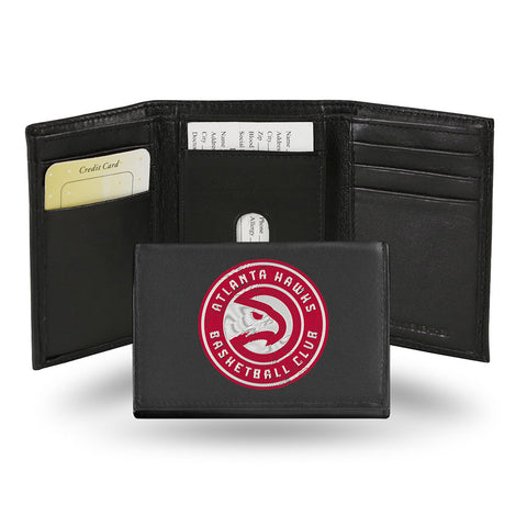 Atlanta Hawks Embroidered Trifold Wallet