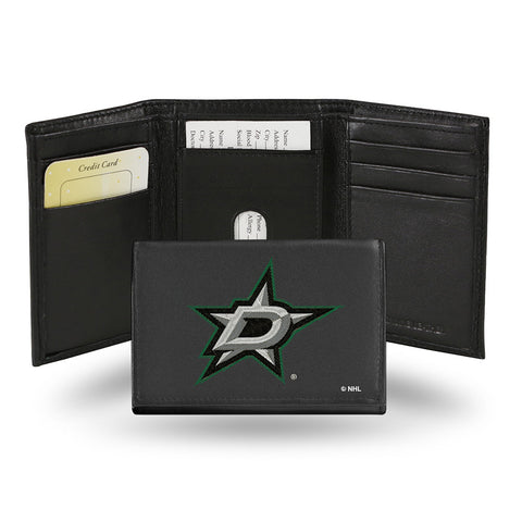 Dallas Stars Embroidered Trifold Wallet