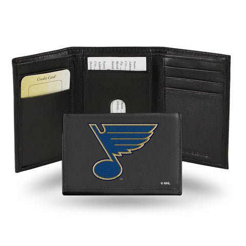 St. Louis Blues Embroidered Trifold Wallet