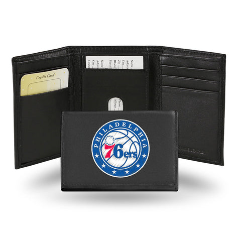 Philadelphia 76ers Embroidered Trifold Wallet