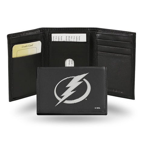 Tampa Bay Lightning Embroidered Trifold Wallet