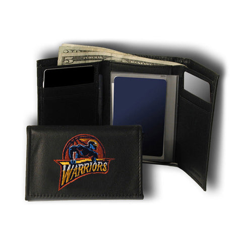 Golden State Warriors NBA Embroidered Trifold Wallet