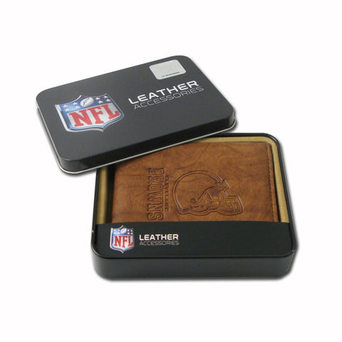 Cleveland Browns Embossed Leather Billfold