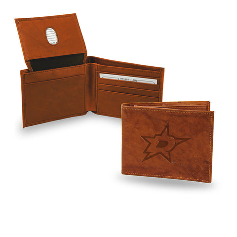 Dallas Stars Embossed Leather Billfold