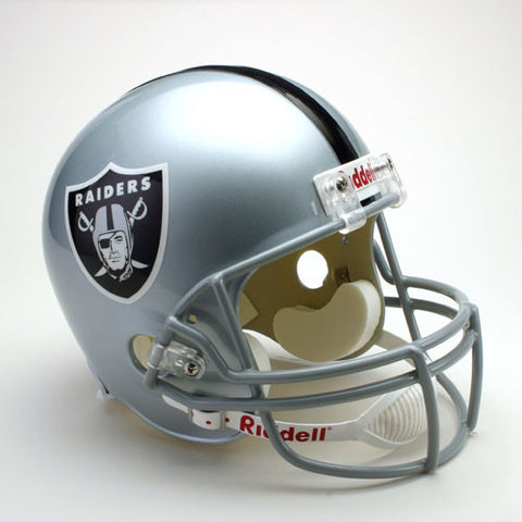 Oakland Raiders Full Size Deluxe Replica NFL Helmet