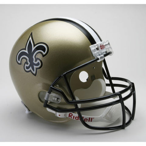 New Orleans Saints Full Size Deluxe Replica NFL Helmet
