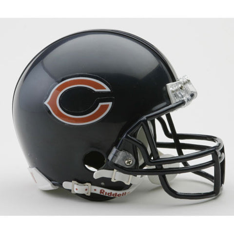 Chicago Bears Miniature Replica NFL Helmet w/Z2B Mask