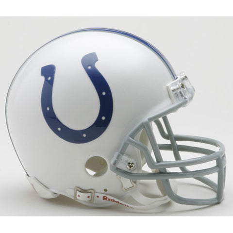 Indianapolis Colts Miniature Replica NFL Helmet w/Z2B Mask