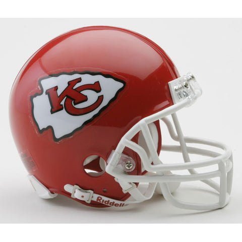 Kansas City Chiefs Miniature Replica NFL Helmet w/Z2B Mask