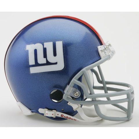 New York Giants Miniature Replica NFL Helmet w/Z2B Mask