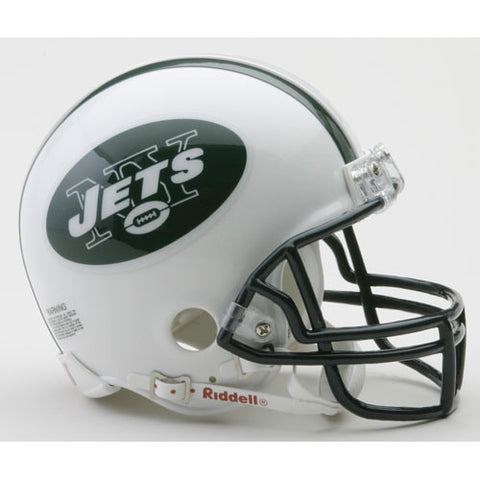 New York Jets Miniature Replica NFL Helmet w/Z2B Mask