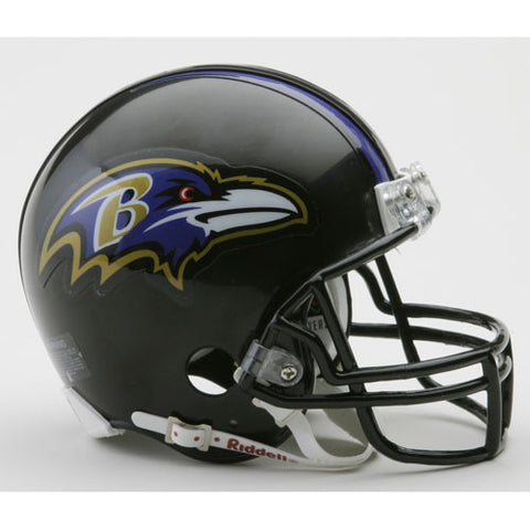 Baltimore Ravens Miniature Replica NFL Helmet w/Z2B Mask