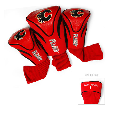 Calgary Flames NHL 3 Pack Contour Fit Headcover