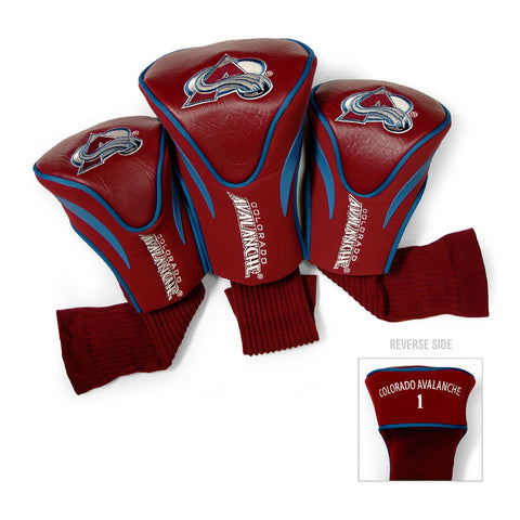 Colorado Avalanche NHL 3 Pack Contour Fit Headcover