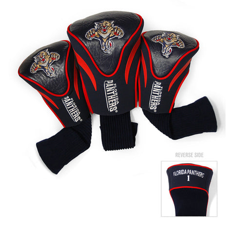 Florida Panthers NHL 3 Pack Contour Fit Headcover