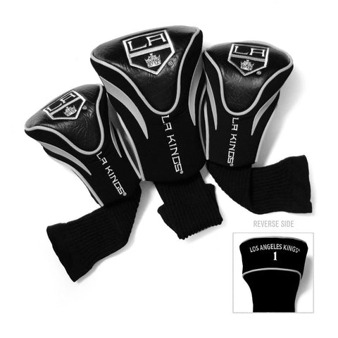 Los Angeles Kings NHL 3 Pack Contour Fit Headcover