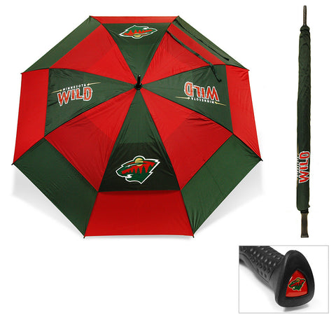 Minnesota Wild NHL 62 inch Double Canopy Umbrella