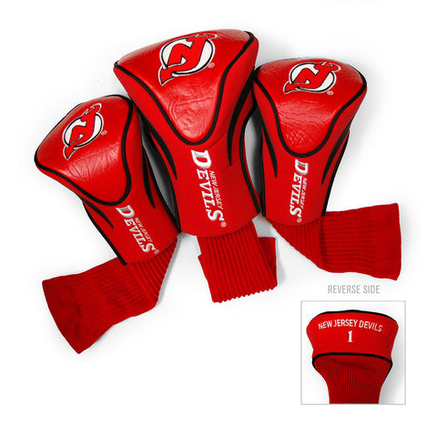New Jersey Devils NHL 3 Pack Contour Fit Headcover