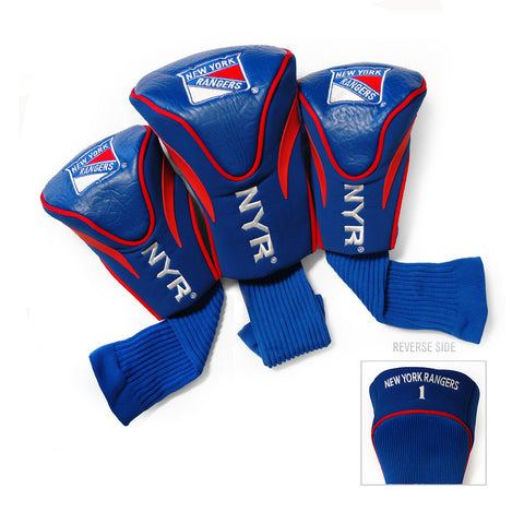 New York Rangers NHL 3 Pack Contour Fit Headcover