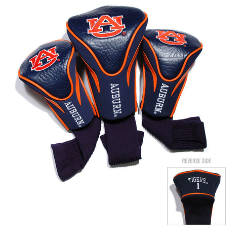 Auburn Tigers NCAA 3 Pack Contour Fit Headcover