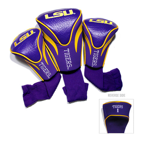 LSU Tigers NCAA 3 Pack Contour Fit Headcover