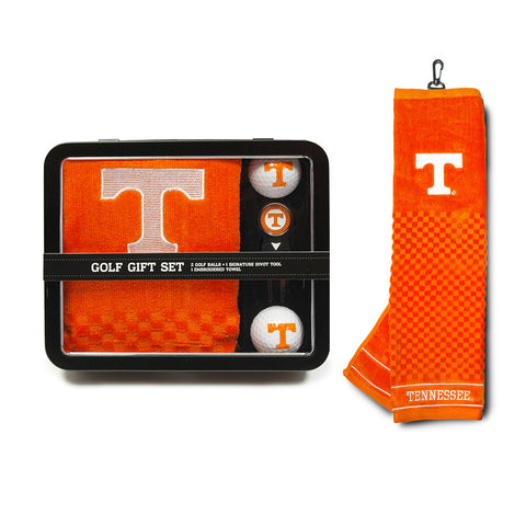 Tennessee Volunteers NCAA 2 Golf Ball, Divot Tool and Towel Set