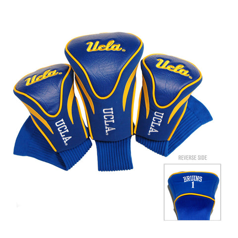 UCLA Bruins NCAA 3 Pack Contour Fit Headcover