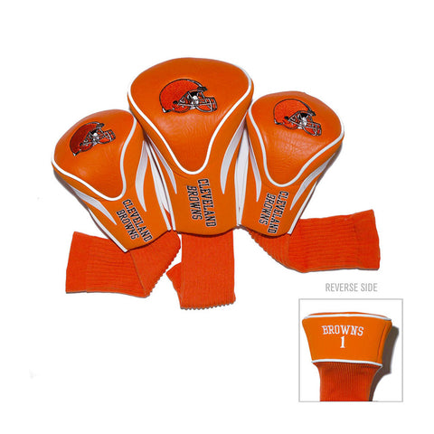 Cleveland Browns NFL 3 Pack Contour Fit Headcover