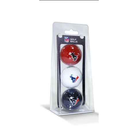 Houston Texans NFL 3 Ball Pack